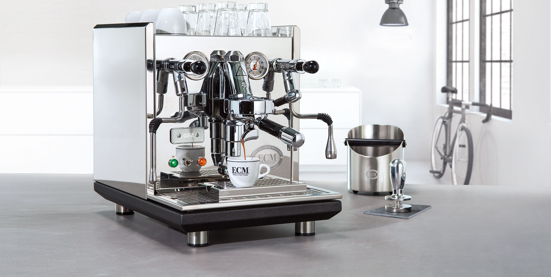 espresso coffee machines manufacture gmbh ecm. Black Bedroom Furniture Sets. Home Design Ideas